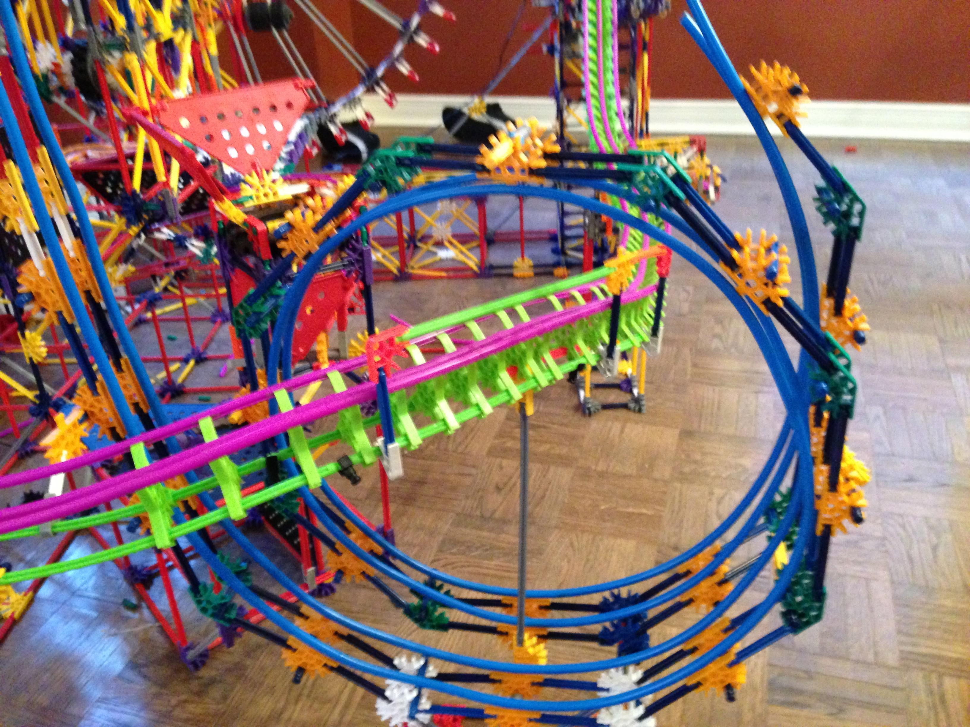 Picture of Olympus the Third - K'nex Ball Machine