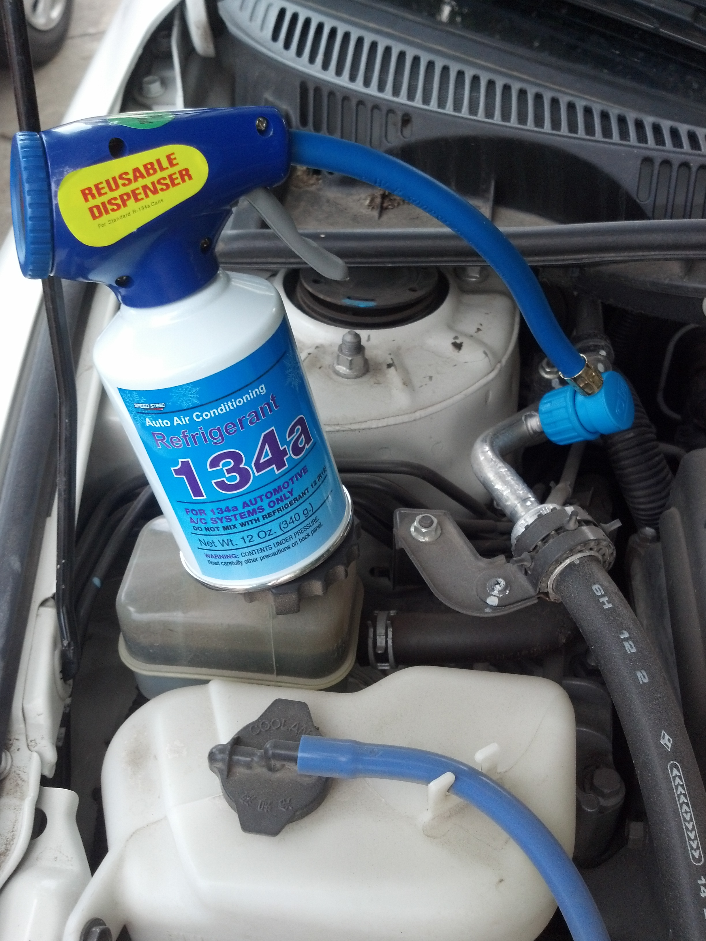 R134a Auto Car Automotive A//C Air Conditioning Refrigerant Gas Can Replacement