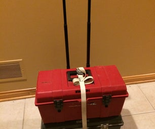 Rolling Backpack to Stackable Storage Dolly
