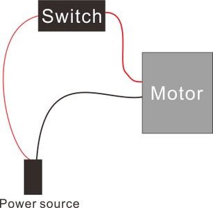 Assemble Switch and DC IN Connector