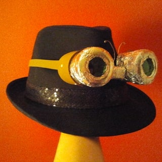 How to Make Sci-fi / Steampunk Goggles From Trash.