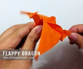 Action Origami - Flapping Dragon