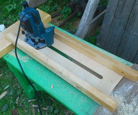 Planing Sled From Scrap for Half an Hour