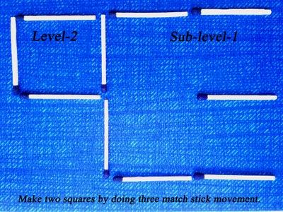 LEVEL  '2',   Sub-level  '1'
