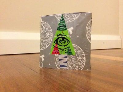 Illuminati Christmas Card