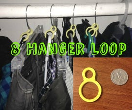 Closet Organizer and Matchmaker - 8 Hanger Loop