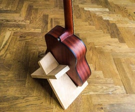 Simple Elegant Guitar Stand