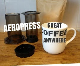Aeropress - Inverted Set-up