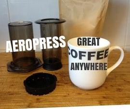 Aeropress - Inverted Set-up