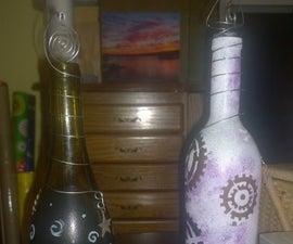 Incense Burner Wine Bottle