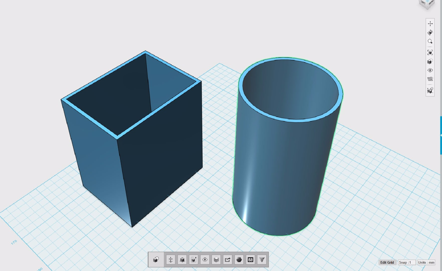 Picture of Create First 2 Basic Shapes