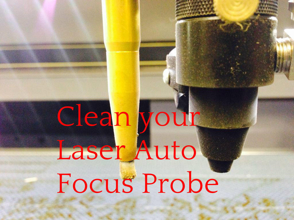 Picture of Laser Engraver Auto Focus Probe - Cleaning