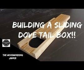 Making a Sliding Dove Tail Box // Pen Holder