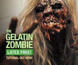Epic Latex Free Zombie - SFX Makeup Tutorial