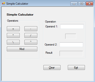 Visual Basic Calculator 8 Steps Instructables