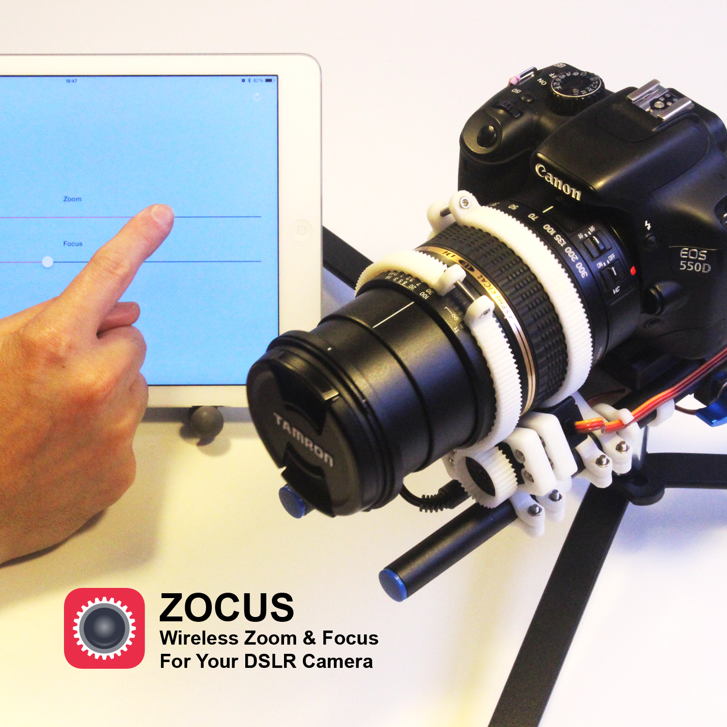 Picture of Zocus - Wireless Zoom & Focus for Your DSLR Camera