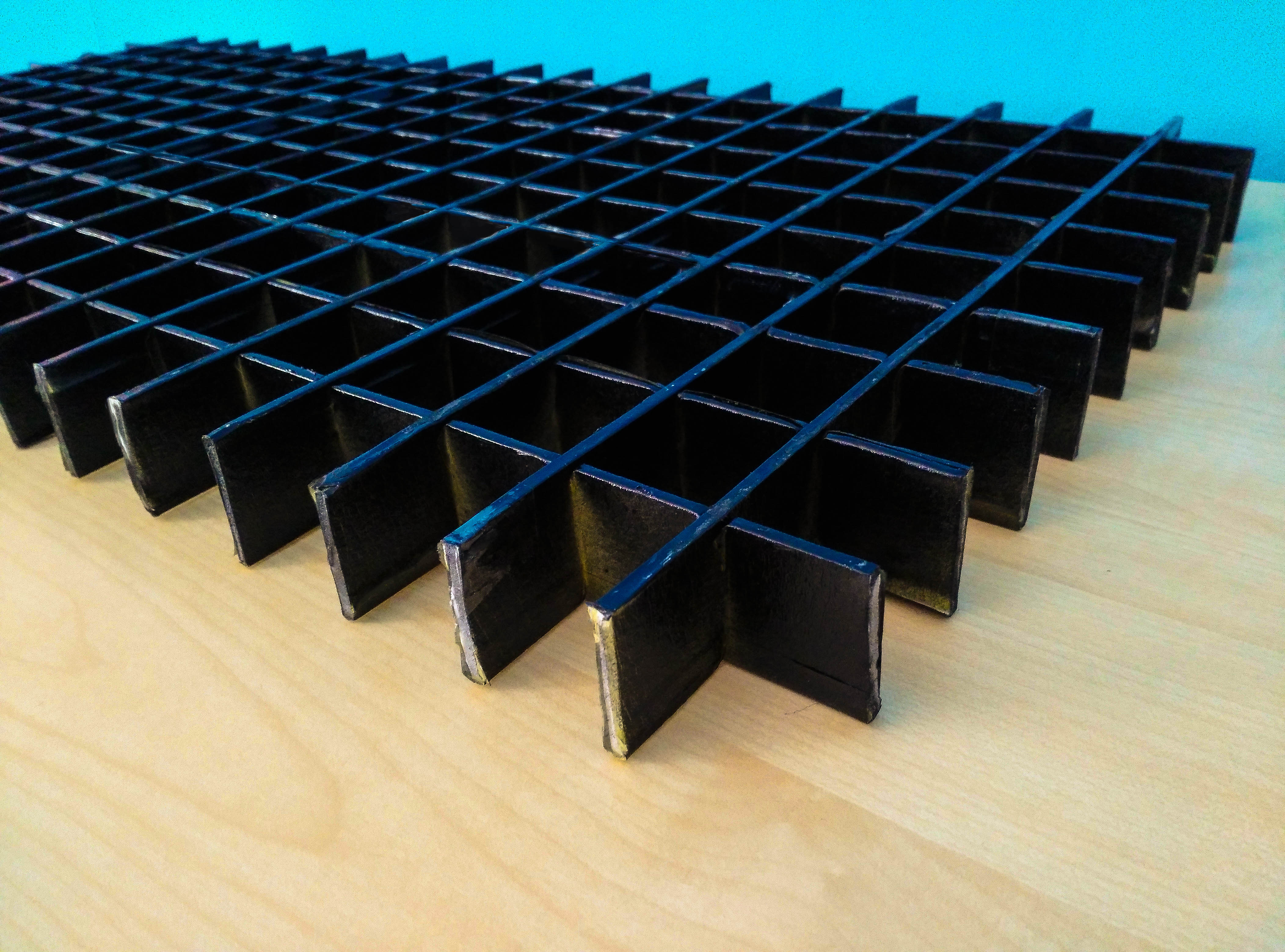 Picture of Make the Square Foam Grid: