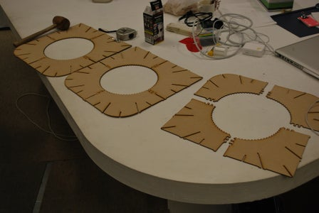 Assemble the 3 Flat Parts.