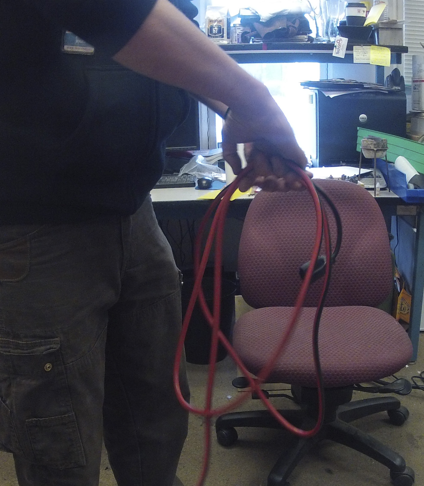 Picture of Coiling a Length of Cordage