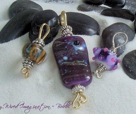 Focal Bead Pendant in 10 Minutes or Less