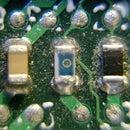 Close ups on electronics