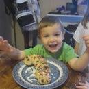 Seth's Candy Cane Bread