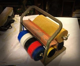 DIY Duct Tape Dispenser