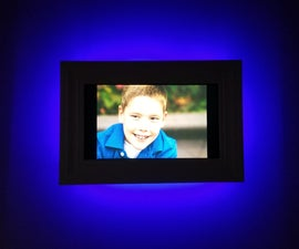 Cloud Connected, Motion Activated, Digital Photo Frame