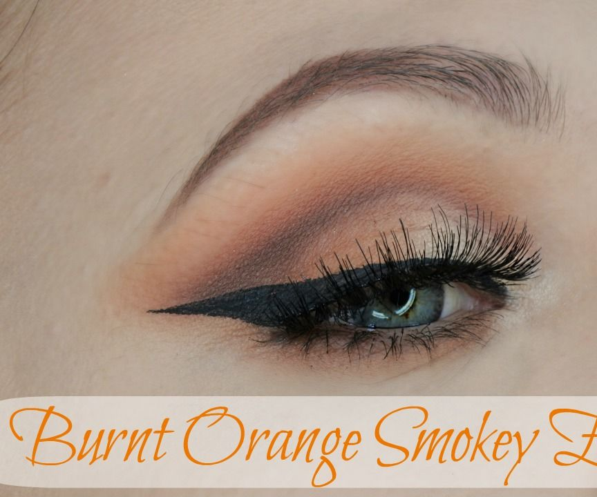 Burnt Orange Smokey Eye Makeup 7 Steps With Pictures