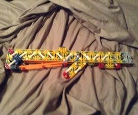 The Sledgehammer A Knex Slide Action Rifle