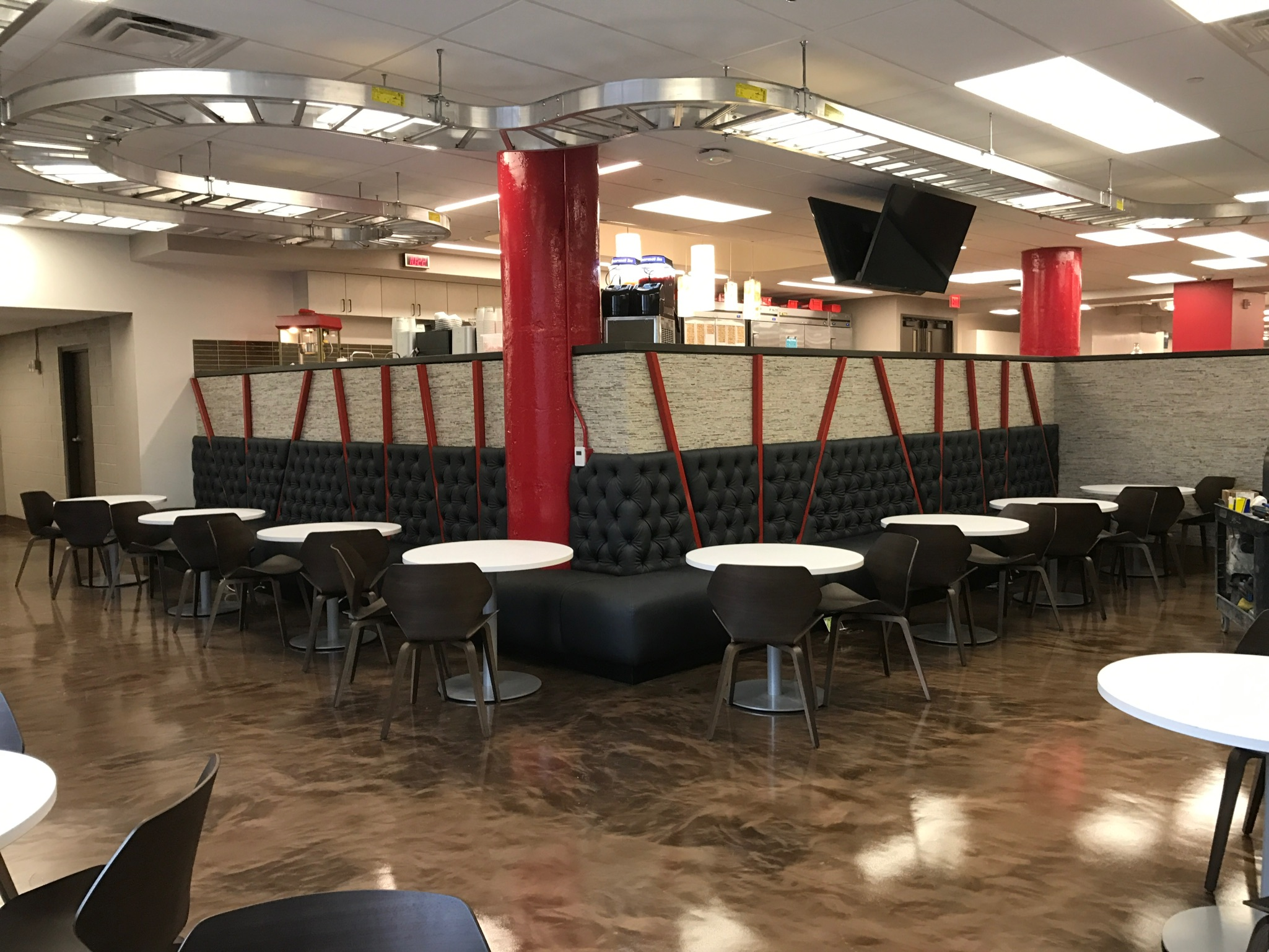 Picture of Cafeteria Banquette Seating (booth Seats)