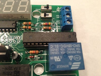 Place and Solder the Blue Terminal Block (CONN4)