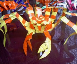 plastic bottle Crab