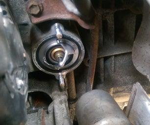 Toyota RAV4 2008 Coolant Change and Thermostat Swap