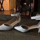 DIY Wedding Shoes (BEAUTIFUL!)