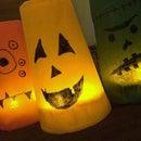 Halloween Monster Cup Lanterns