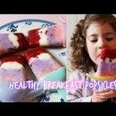 Greek Yogurt, Granola & Berry Breakfast Popsicles
