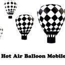 Paper Hot Air Balloon Mobile