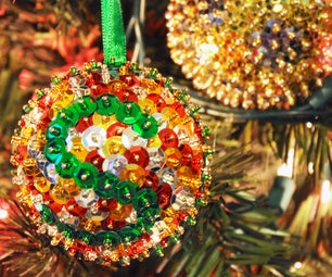 Sequins Ornaments