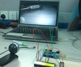 Barcode Reading using Roborealm (Output on Arduino LCD)