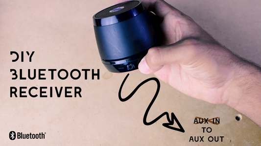 Build Your Own Bluetooth Audio Receiver