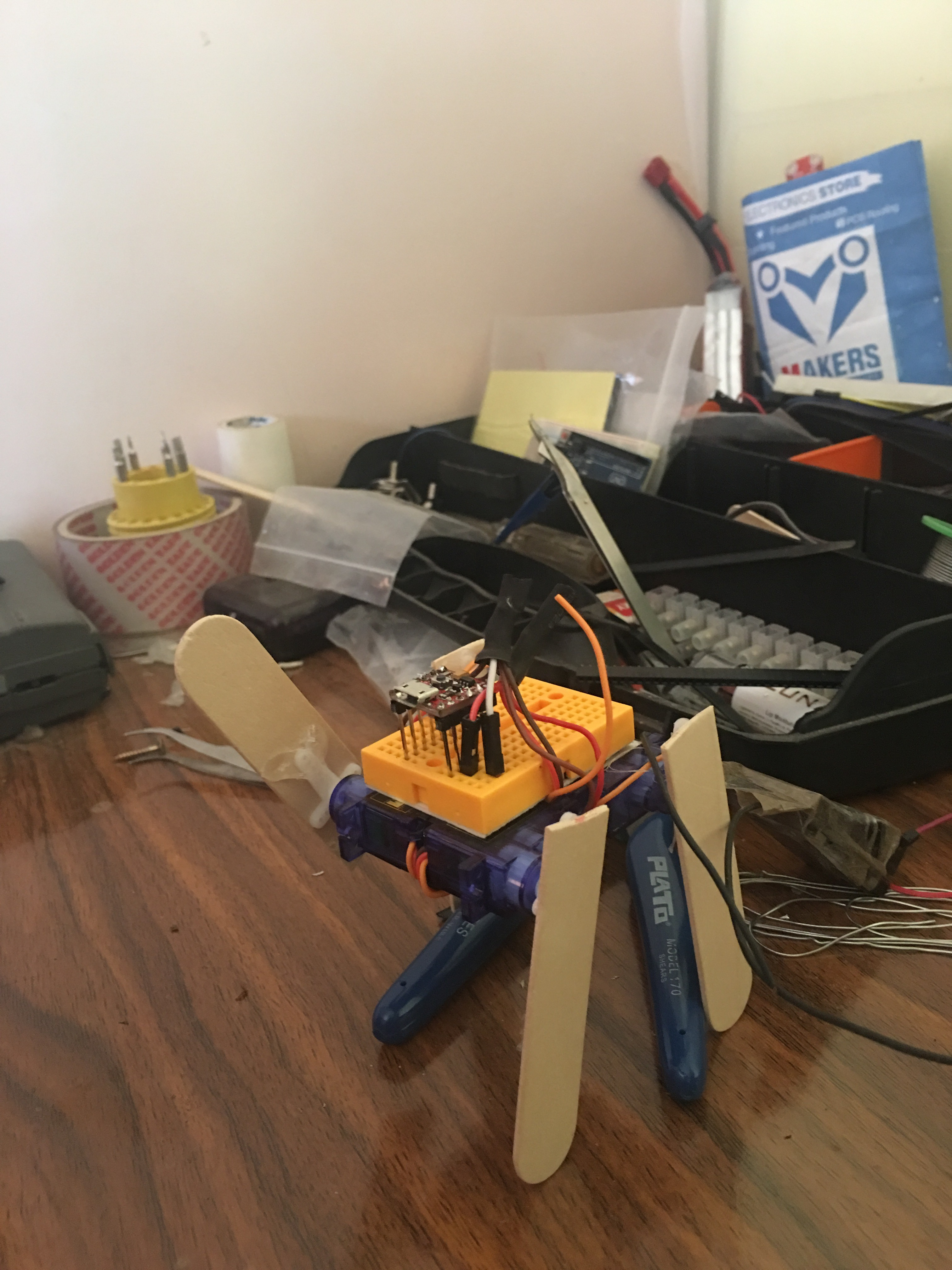 Picture of Very Funny and Smallest Robot (meshmesh)