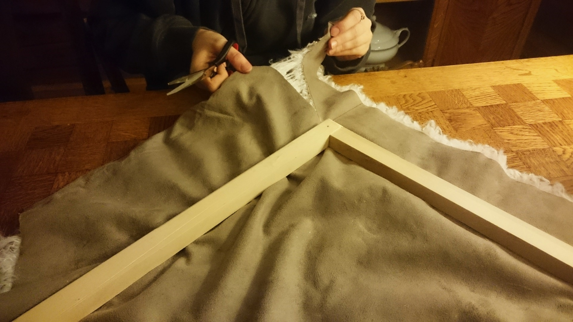 Picture of Cut and Attach the Fabric