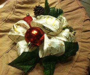 1-minute Christmas Centerpiece