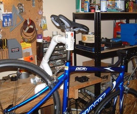 PVC Bench-top Bike Repair Stand
