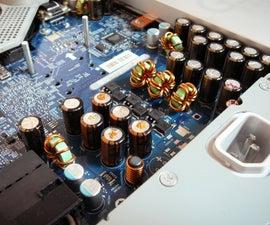 Imac G5 DIY capacitors repair