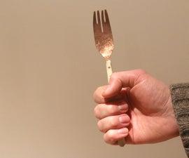 Handmade Copper Fork