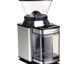 Hacking the Cuisinart SupremeGrind for Espresso