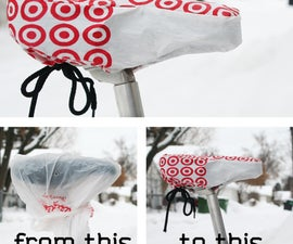 Plastic Bag Bike Seat Cover