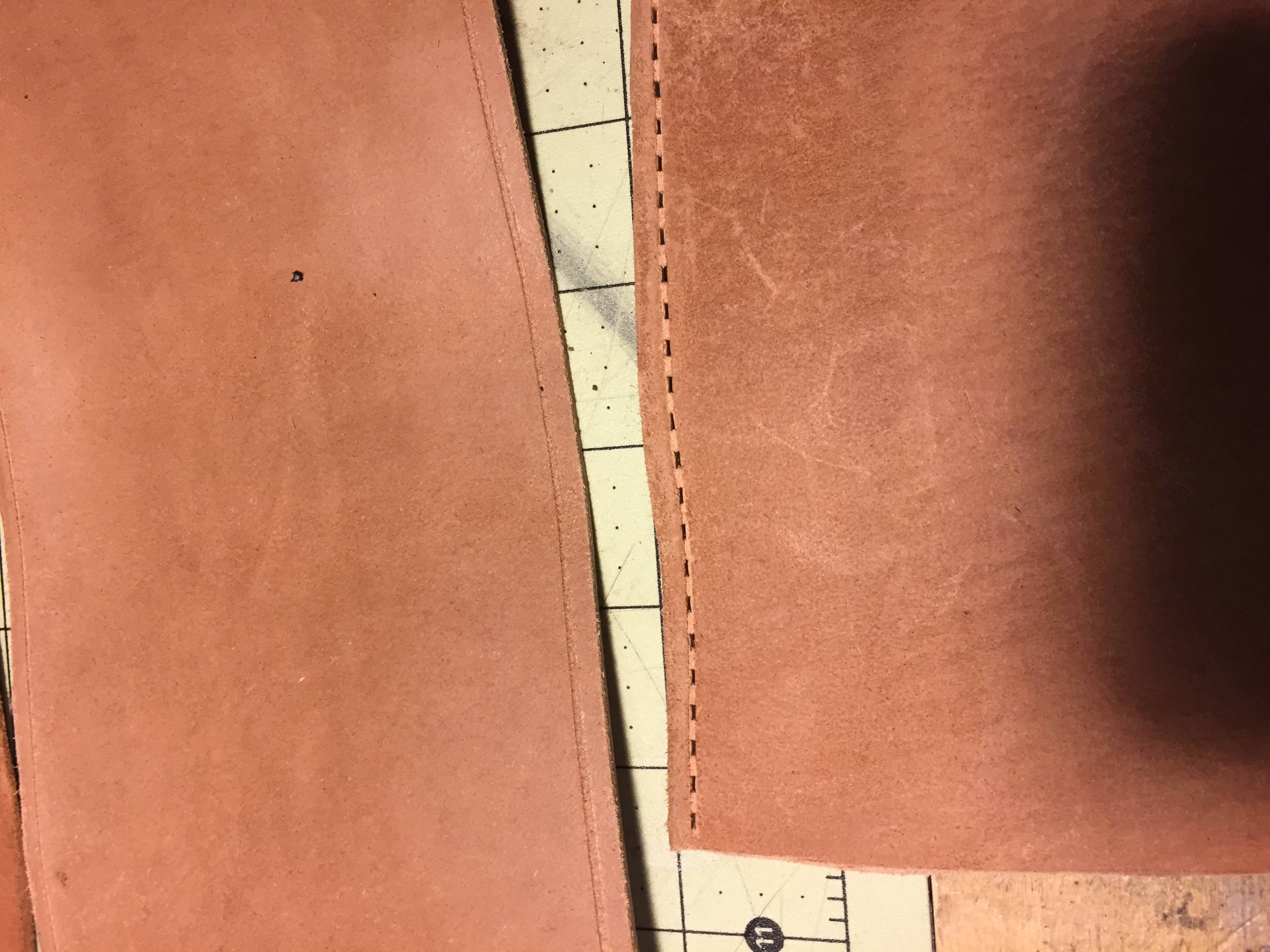 Picture of Started With the Leather